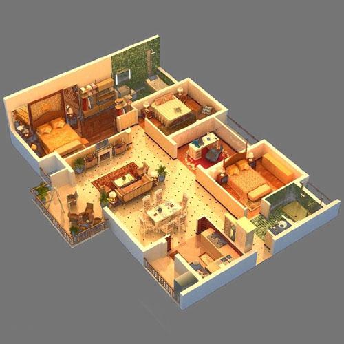 购买新房看户型图时,以下几个地方最容易被误导